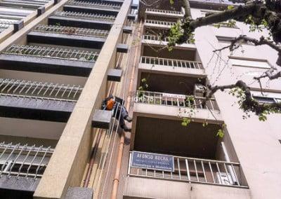 Braga | Mudança de Tubos de queda em fachada de edifício